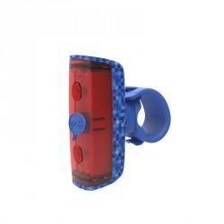 Eclairage arrière Knog Pop R bleu