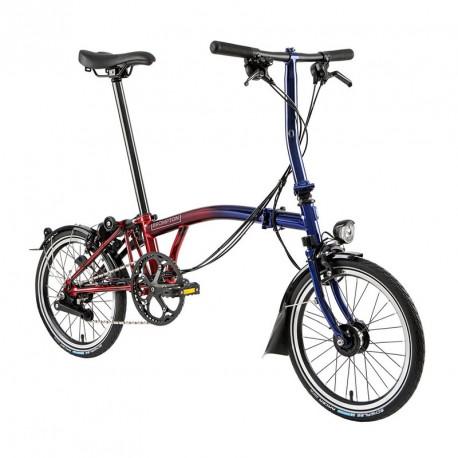 Vélo pliant série limitée Brompton Nine Streets Edition