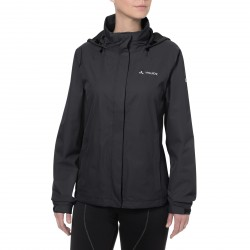Veste Femme Vaude Escape Bike Light jacket Black porté