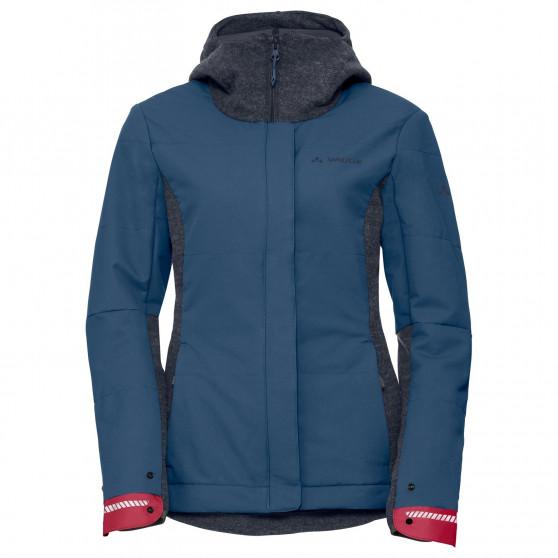 Veste Femme Vaude Cyclist Padded Jacket III Fjord Blue