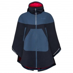 Poncho Vaude Cyclist Cape Eclipse