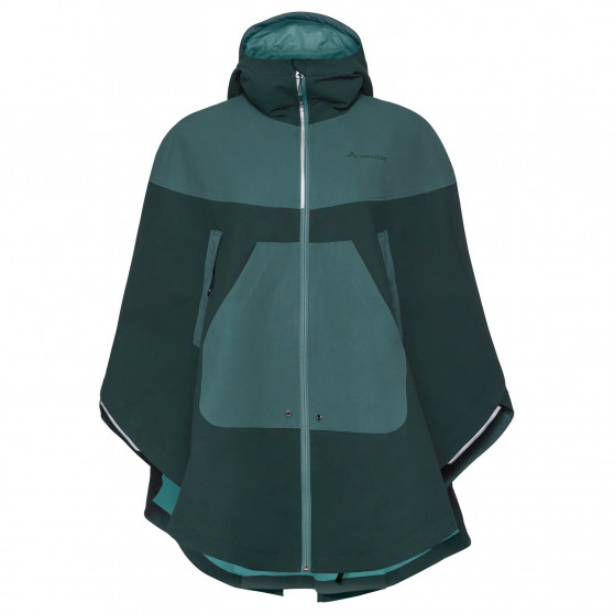 Poncho Vaude Cyclist Cape Quarz