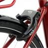Vélo de ville électrique Kalkhoff Agattu 3.B Dynamic winered glossy