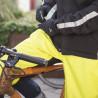 Sur-Pantalon de pluie Vaude Bike Chaps Black ville canary
