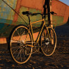 Vélo Vintage Genesis Brixton Gold vue 3/4