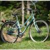 Vélo Vintage Femme Genesis Columbia Road turquoise