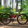 Vélo Gravel Genesis Fugio 20 red