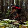 Vélo Gravel Genesis Fugio 20 contrôle descente