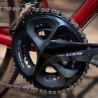 Vélo Gravel Genesis Croix de Fer 30 pédalier Shimano 105