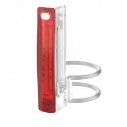 Eclairage arrière Knog Plus - 20 lumens - translucide