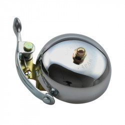 Sonnette Crane Bell Suzu Polished silver