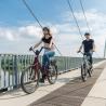 Vélo de ville électrique Moustache Lundi 26.2 bordeaux
