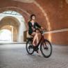 Vélo de ville électrique Moustache Lundi 26.3 gris clair
