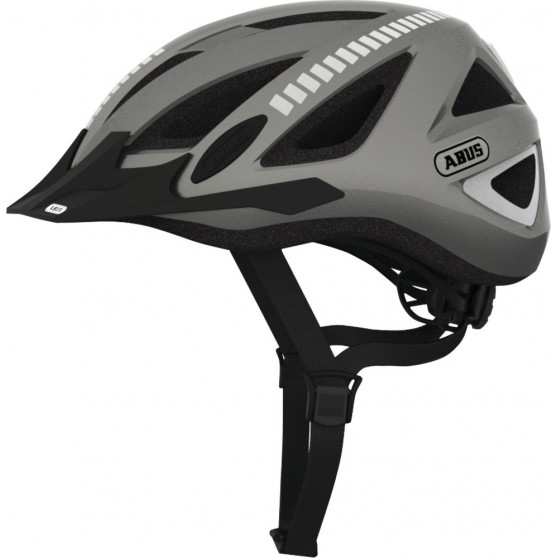 Casque vélo Abus Urban-I 2.0 Signal grey