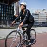 Casque vélo ville Abus hyban +