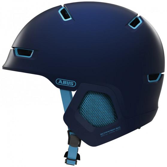 Casque vélo Abus Scraper 3.0 ERA ultra blue
