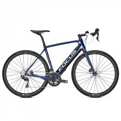 Vélo de route électrique Focus Paralane² 9.7 bleu