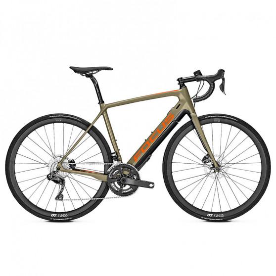 Vélo de route électrique Focus Paralane² 9.8 olive