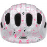 Casque vélo enfant Abus Smiley 2.1 white crush