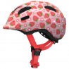 Casque vélo enfant Abus Smiley 2.1 rose strawberry