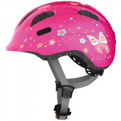 Casque enfant Abus Smiley 2.0 pink butterfly