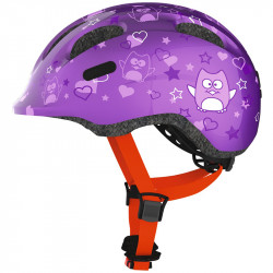 Casque enfant Abus Smiley 2.0 purple star