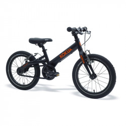 "Vélo enfant 16"" Kokua LIKEtoBIKE (4-6 ans) noir / orange"