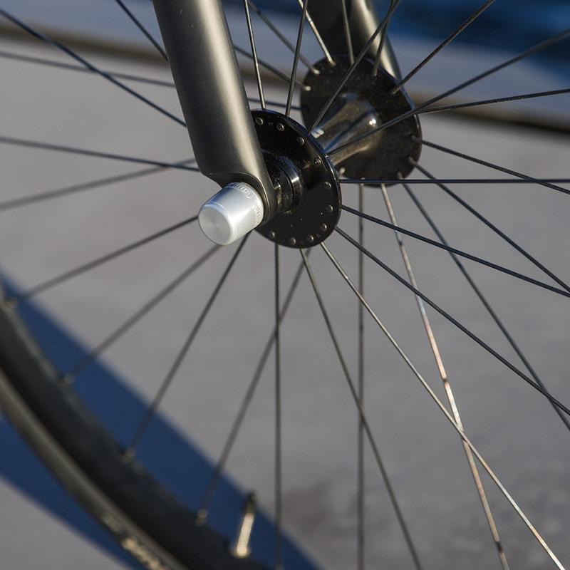 ABUS Nutfix M5 Antivol Cercles Roues Vélo Set avant Arrière 100//135 Ross
