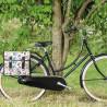 Paire de sacoches vélo ville Basil Mara XL 2 x 17,5 L multicolore porte-bagages