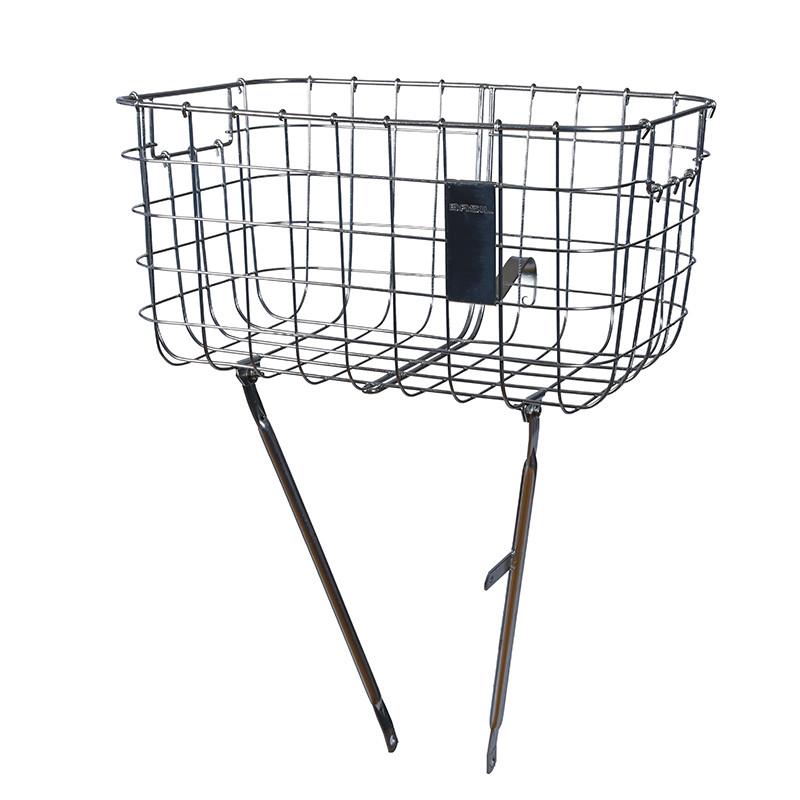 Basil Robin rueda delantera cesta con puntales