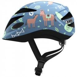 Casque vélo enfant Abus Hubble 1.1 blue horse
