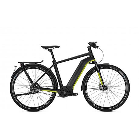 Kalkhoff Integrale S11 vélo électrique speed noir jaune trapeze