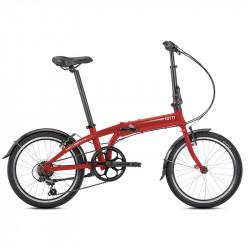 Vélo pliant Tern Link A7 rouge