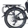Vélo électrique pliant Tern Vektron P9 porte-bagages