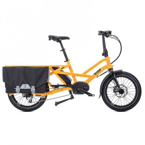 Vélo cargo électrique Tern GSD S10 jaune
