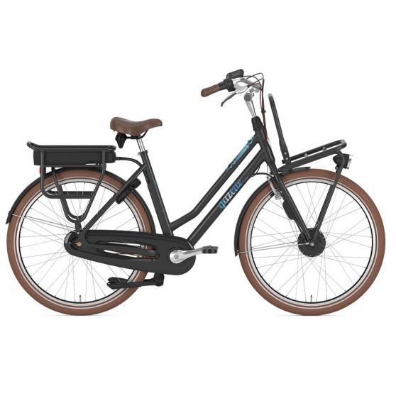 Vélo de ville électrique Gazelle Miss Grace C7 HFP noir