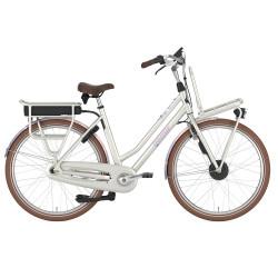 Vélo de ville électrique Gazelle Miss Grace C7 HFP blanc