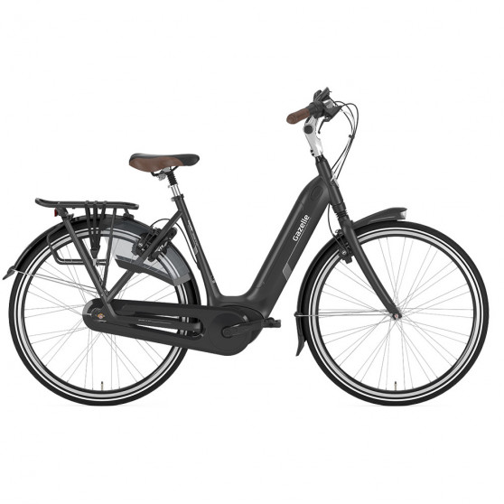 Vélo de ville électrique Gazelle Grenoble C7+ HMB Elite noir