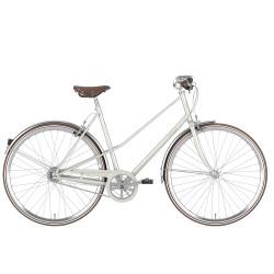 Vélo de ville Gazelle Van Stael femme blanc
