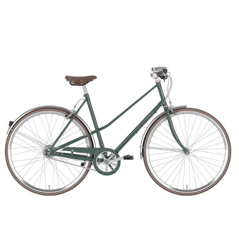 le vélo de ville hollandais gazelle van stael disponible chez cyclable