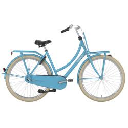 Vélo de ville Gazelle Puur NL femme bleu