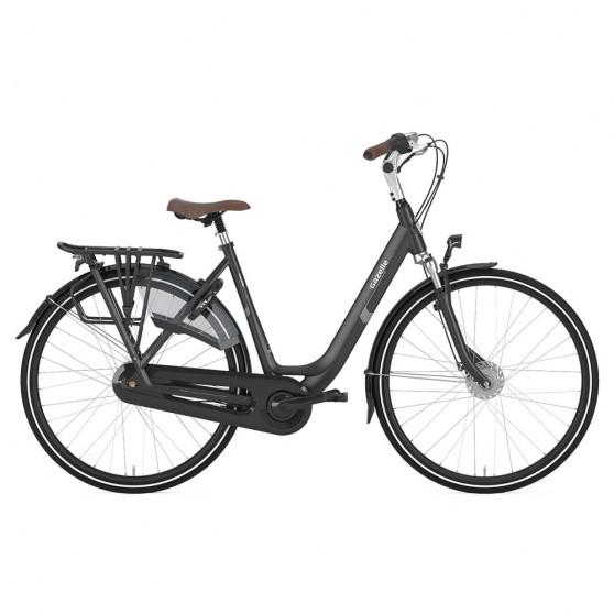 Vélo de ville Gazelle Orange C7+ femme noir