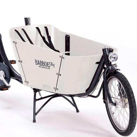 Vélo cargo électrique Babboe City-E bois