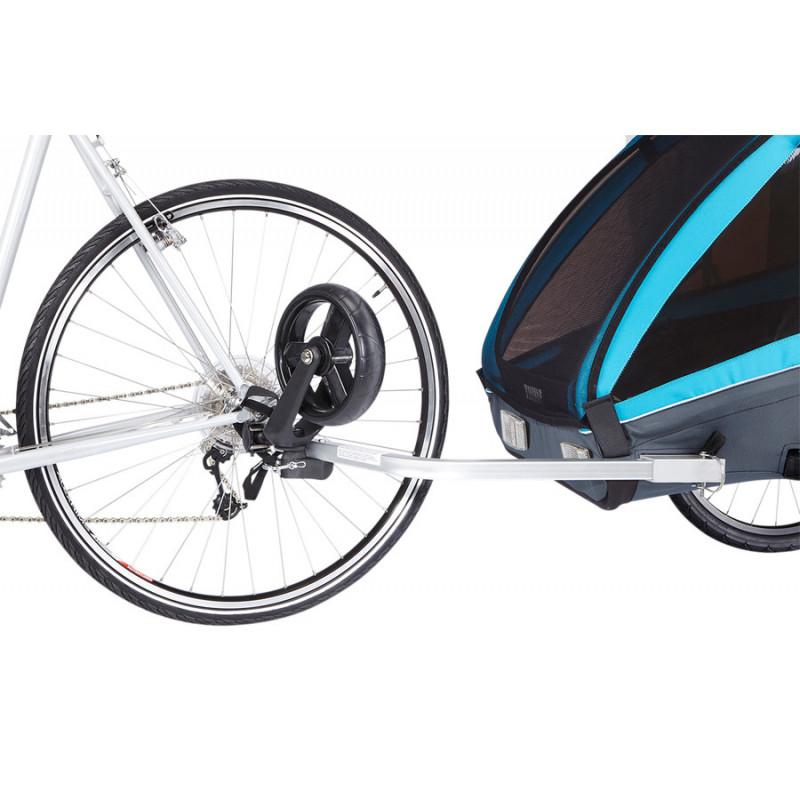 La Remorque Vélo Enfant Thule Chariot Coaster Xt Chez Cyclable