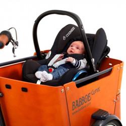 Support de Maxi-Cosi pour vélo cargo Babboe bébé