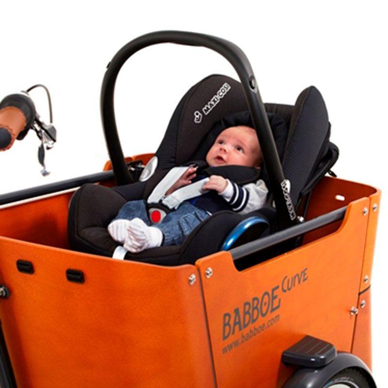 Le Support De Maxi Cosi Pour Vélo Cargo Babboe Dispo Sur Cyclablecom