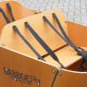 Banc supplémentaire pour vélo cargo Babboe City
