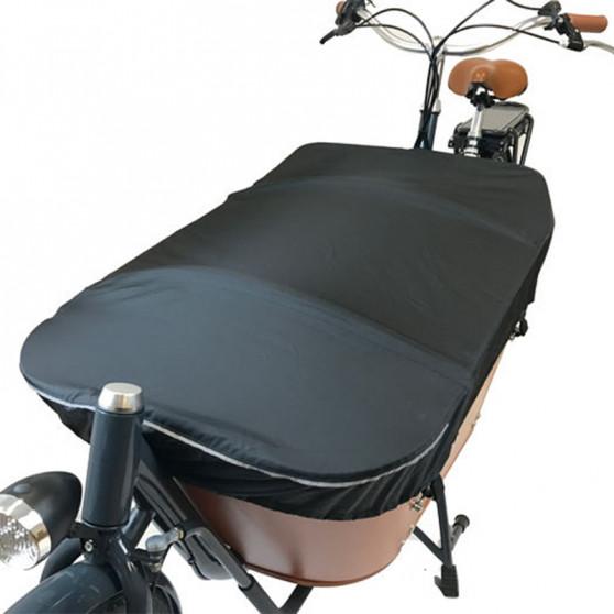 Bâche de protection pour vélo cargo Babboe City