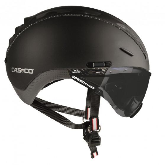 Casque Casco Roadster avec visière noire anti-rayures