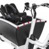 Vélo cargo électrique Urban Arrow Family caisse siège bébé